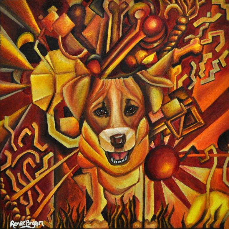Bryan_Renee_Painting_A Good Boy_12707233